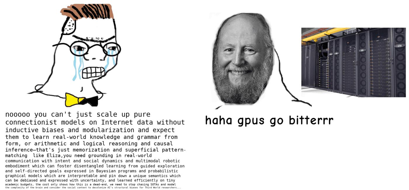 GTP3 Meme sharing a funny joke