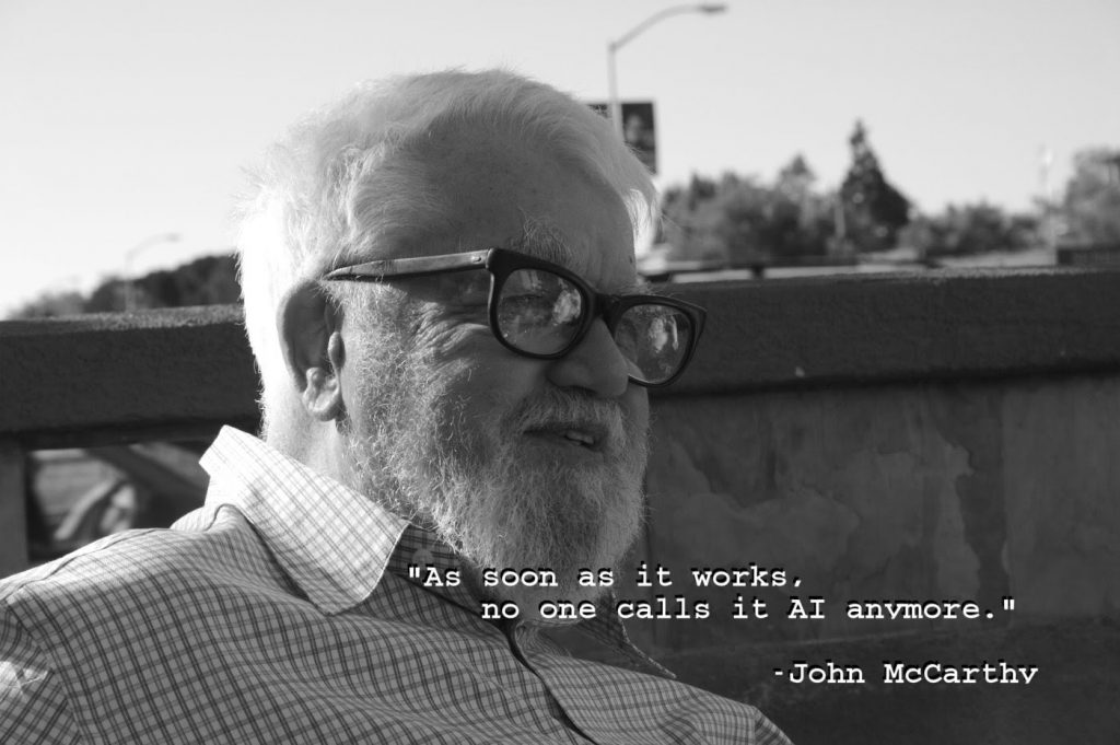John McCarthy Artificial Intelligence Quote