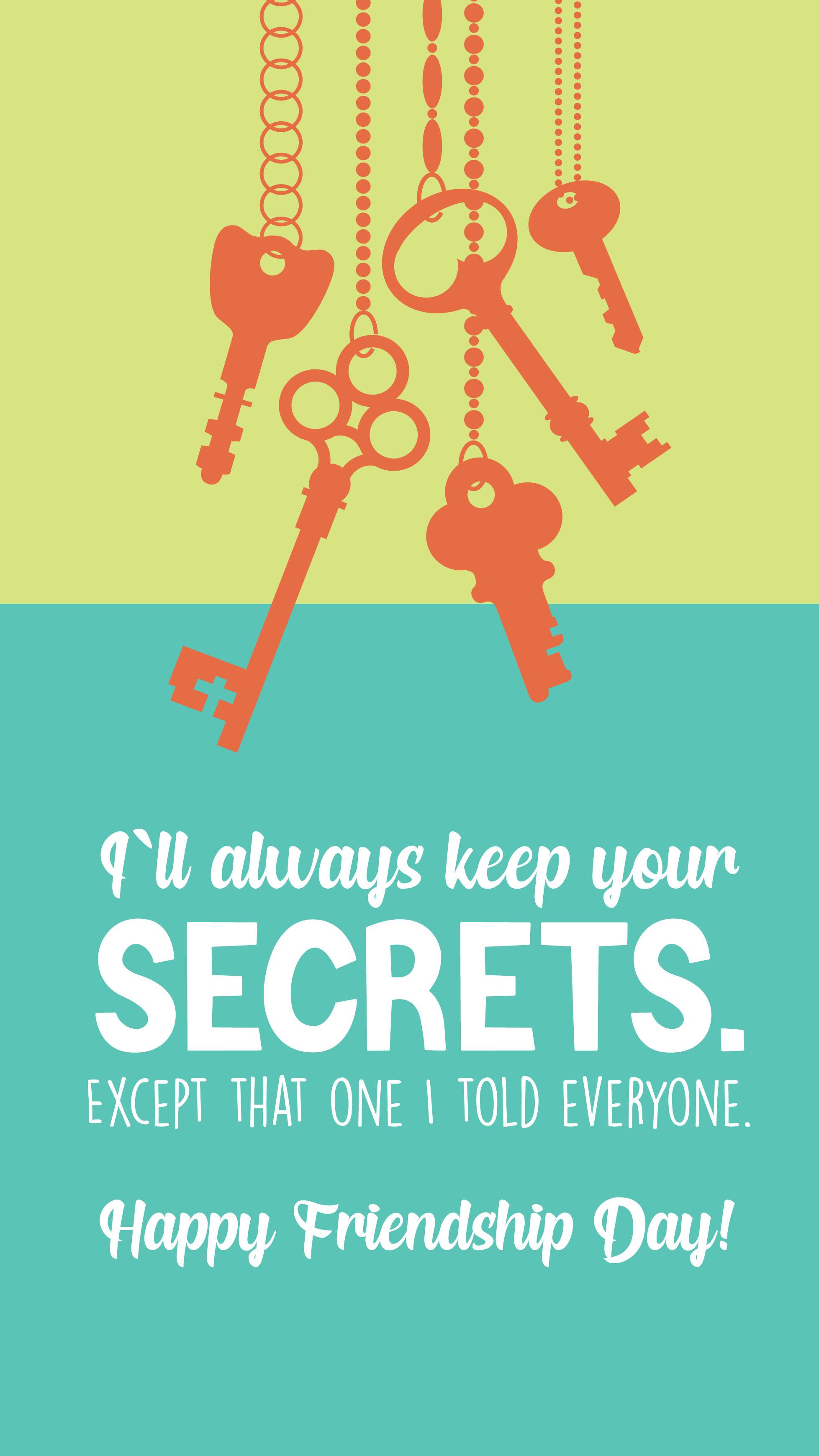 Keep Your Secrets