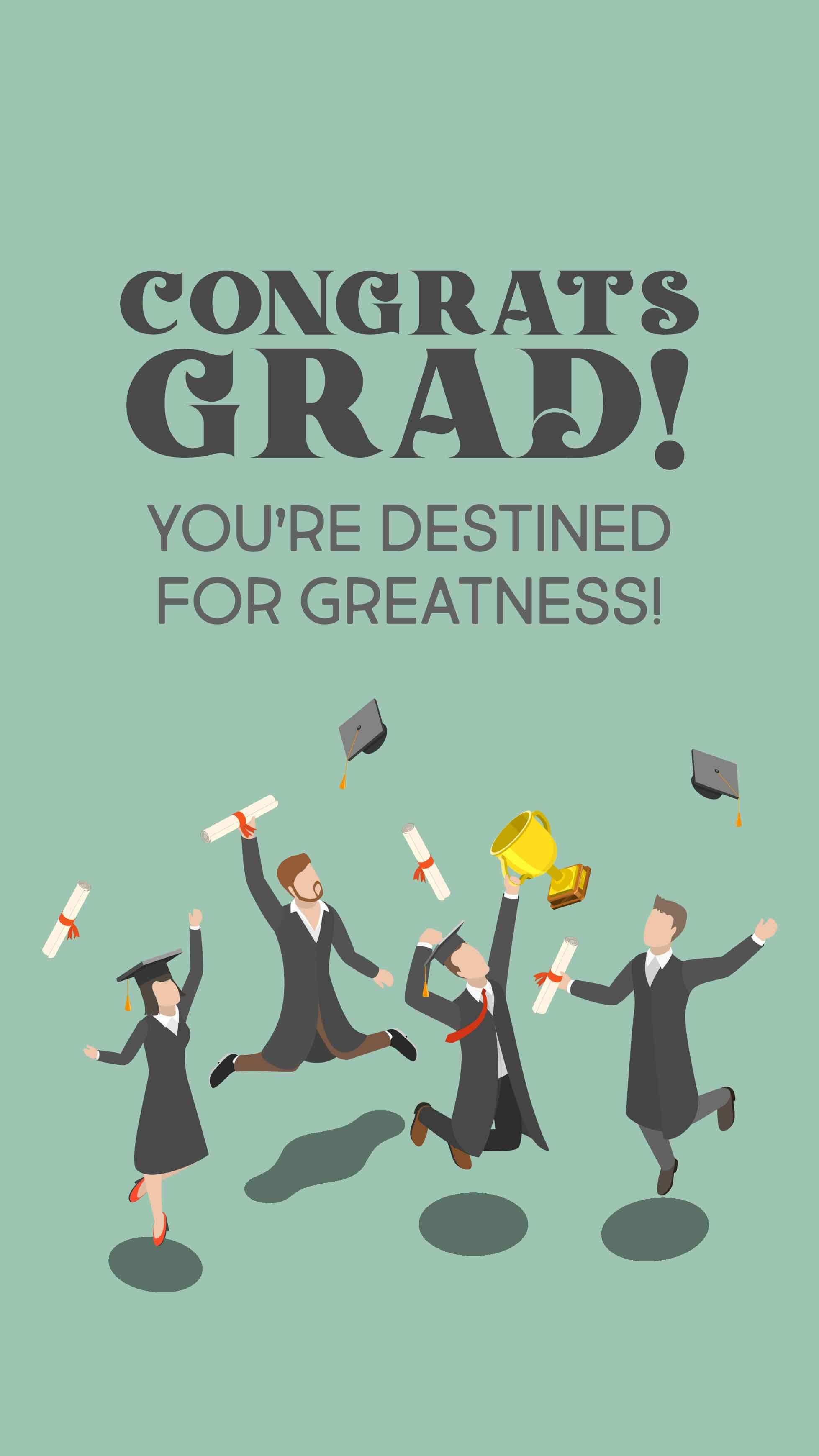 Congrats Grad II