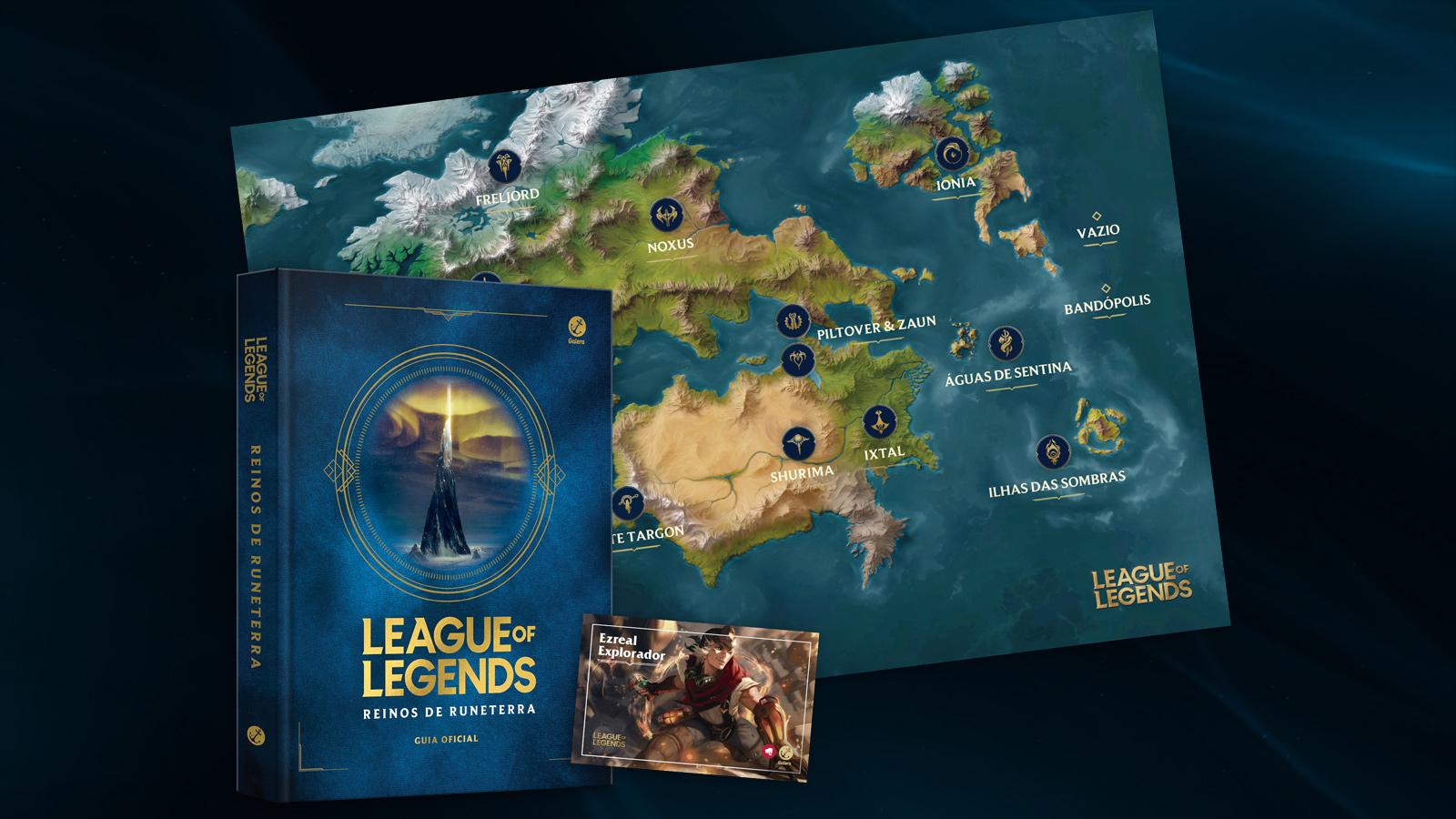Garanta a pré-venda do livro Reinos de Runeterra! - League of Legends