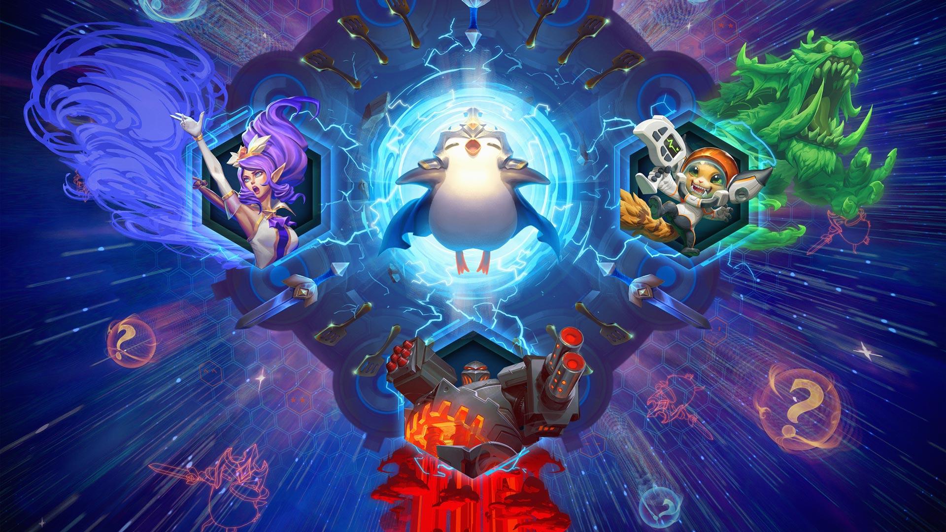 Atualização nas Recompensas Ranqueadas do TFT - League of Legends