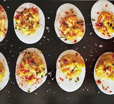 Geoffrey Zakarian's Deviled Eggs