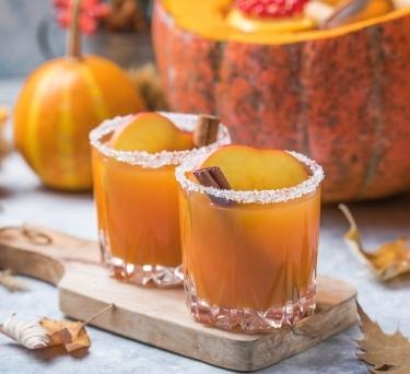 Apple-Pumpkin Sangria