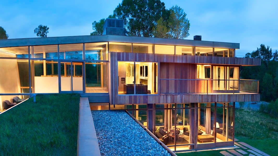 Big Timber, Montana house