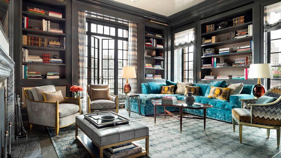 New York, NY living room