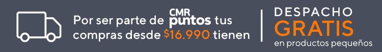 Despacho gratis en productos pequeños por compras sobre $16.990