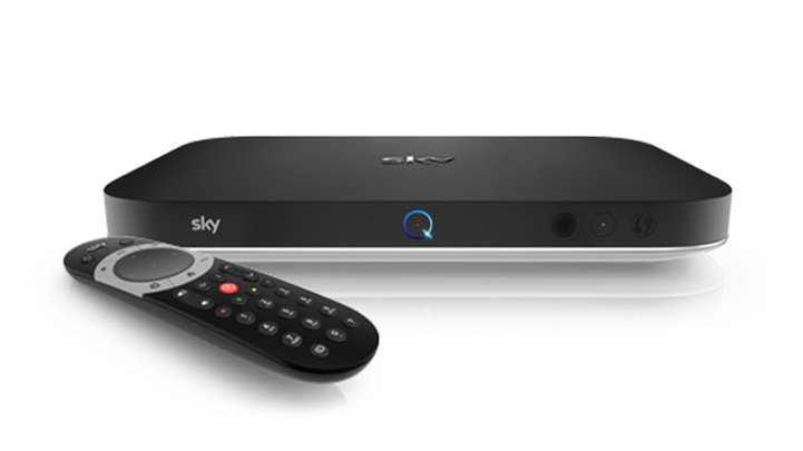 An image of  Sky Q box