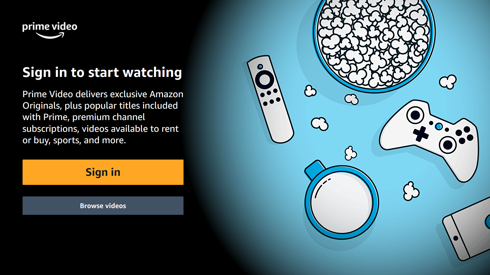 Add Amazon Prime Video to your SKY box