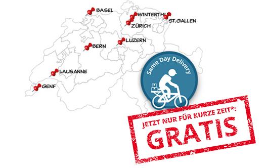 Karte Same-Day-Delivery