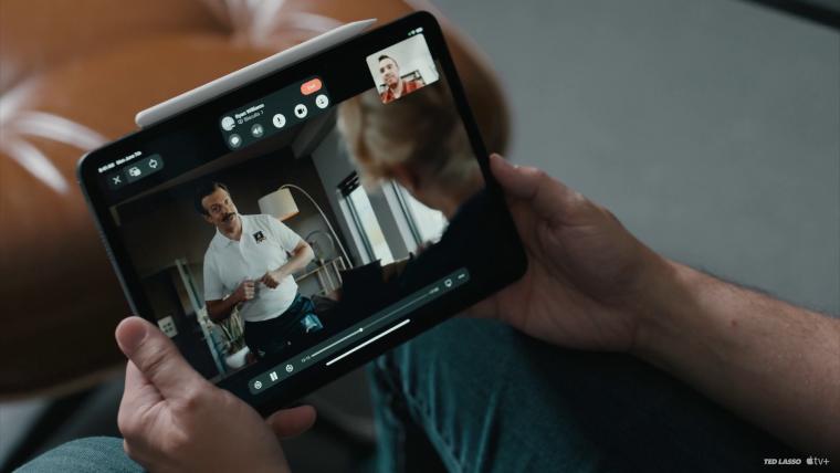 Die beliebte AppleTV+-Serie «Ted Lasso» über FaceTime mit anderen gucken