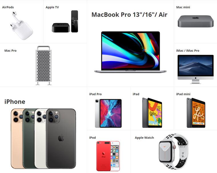 Unsere Apple-Welt auf brack.ch/apple