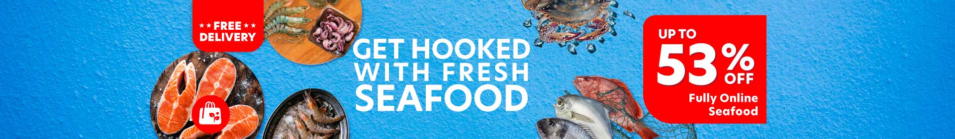 Up to 53% off on Sea Food