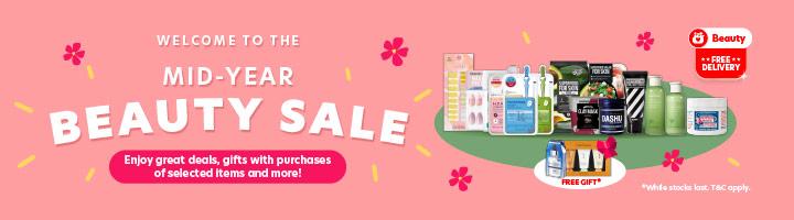 Beauty Mid Year Beauty Sale