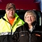 Terry and Sue Strauer, Team owner-operators