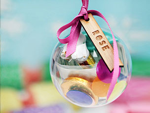 Personalised Christmas Party In A Bauble