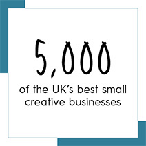 5,000 of the UK's best small creative businesses