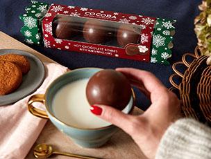 Hot Chocolate Bombes Crackers