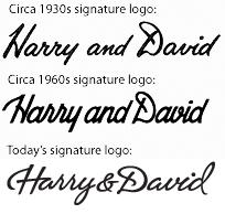 Old Harry & David Logos