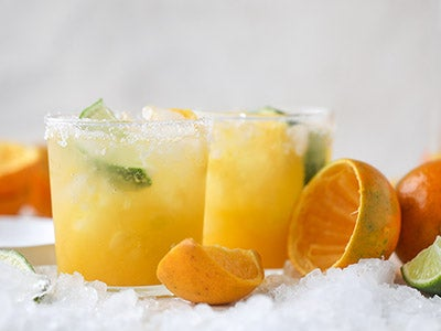 Honeybell Orange Margarita