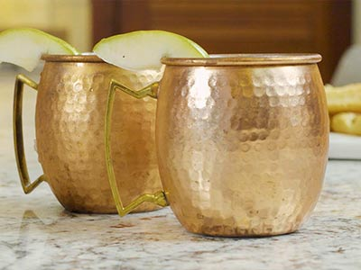 Spiced Pear Moscow Mule