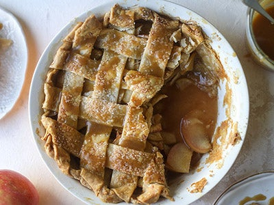 Salted Caramel Apple Pie Recipe