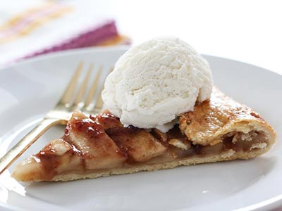 Sweet Apple Crostata
