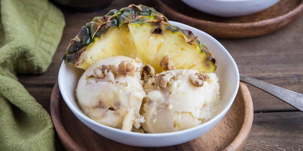 Three-Ingredient Pineapple Nice Cream