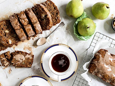 Chai Spiced Pear Bread