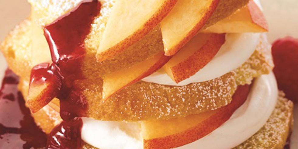 Three-Ingredient Peaches and Cream