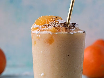 HoneyBell Orange Creamsicle Smoothie
