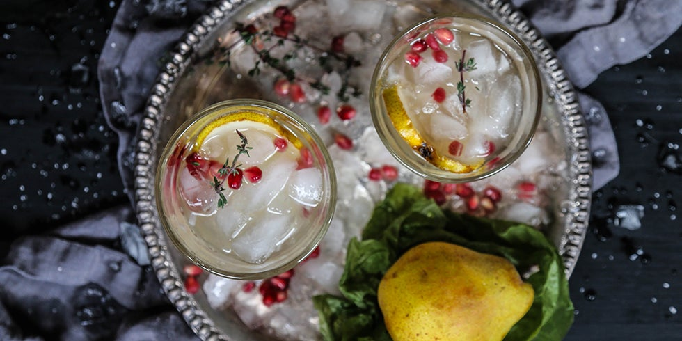 Festive Pear Kombucha