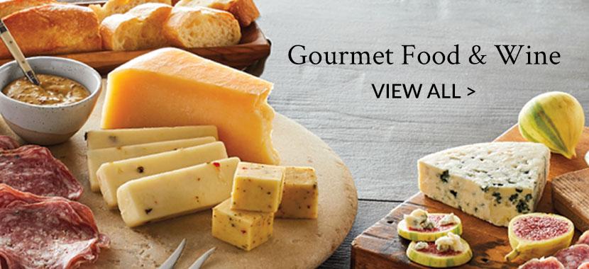 Gourmet Food & Wine