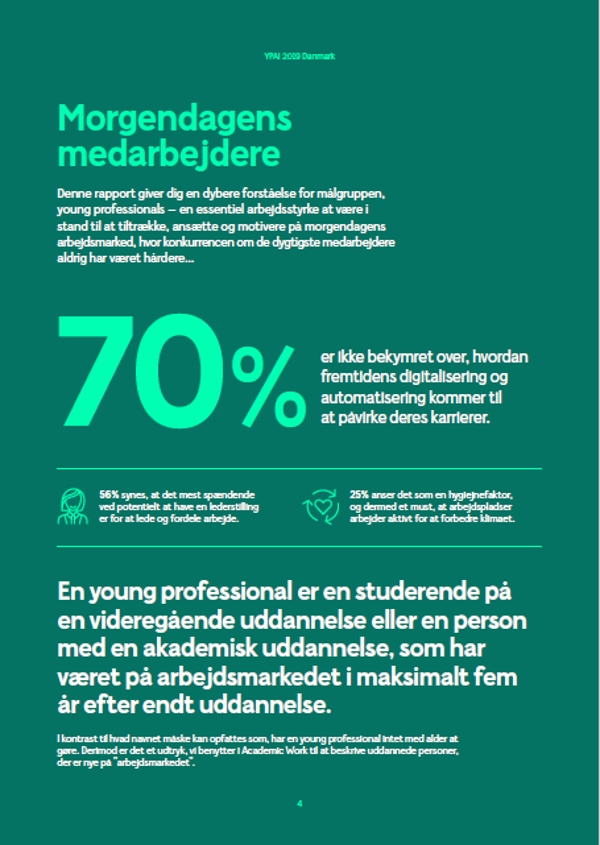 YPAI Young Professional Attraction Index 2019 Danmark