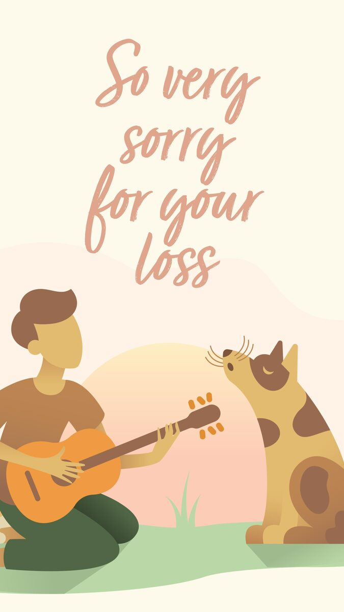So Very Sorry For Your Loss