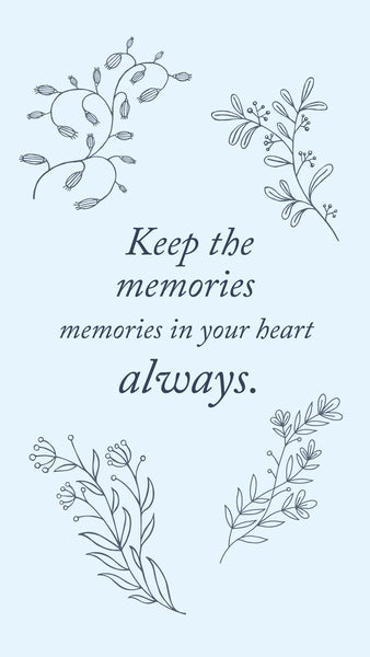 Keep The Memories
