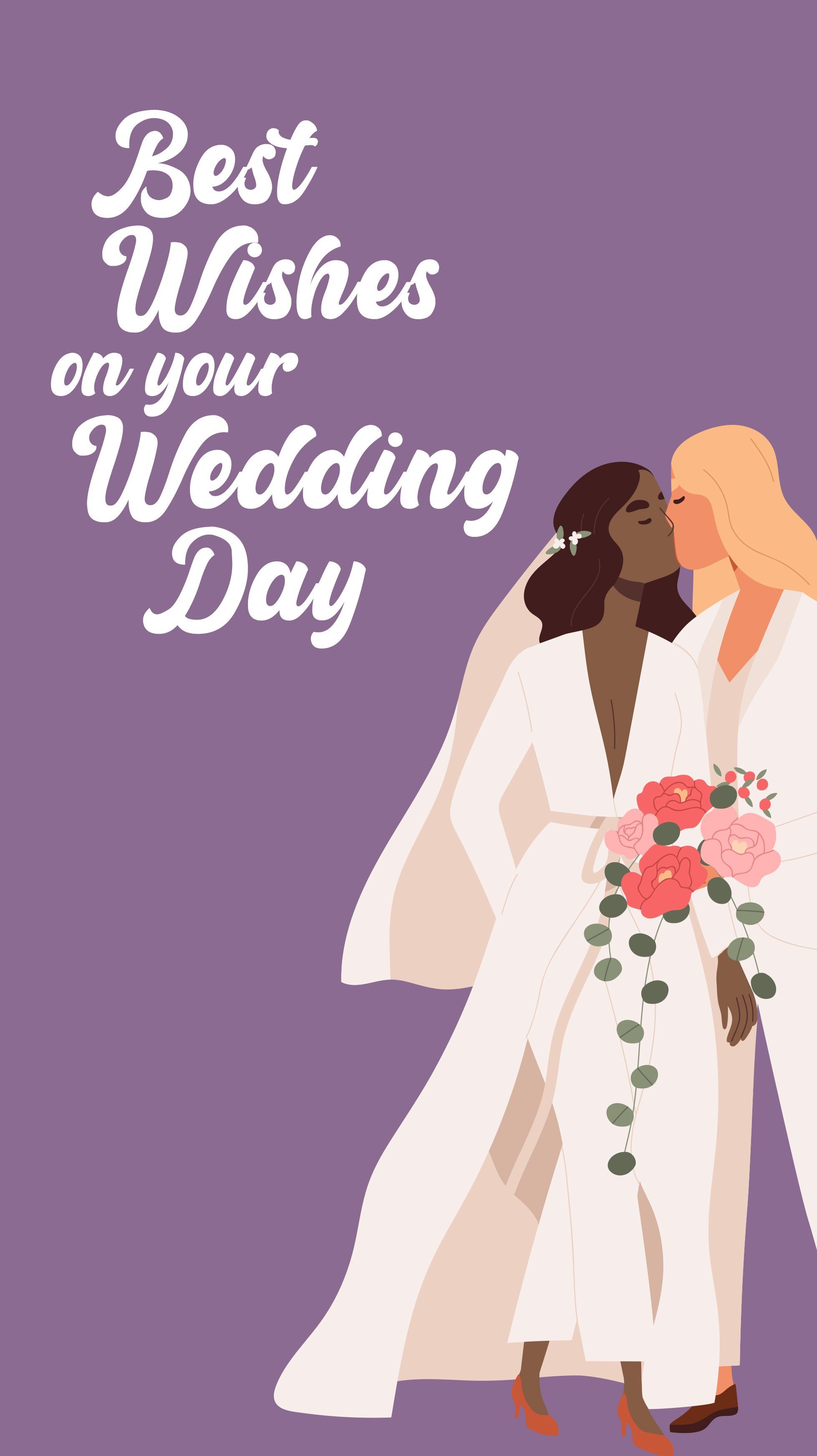 Best Wishes On Your Wedding Day