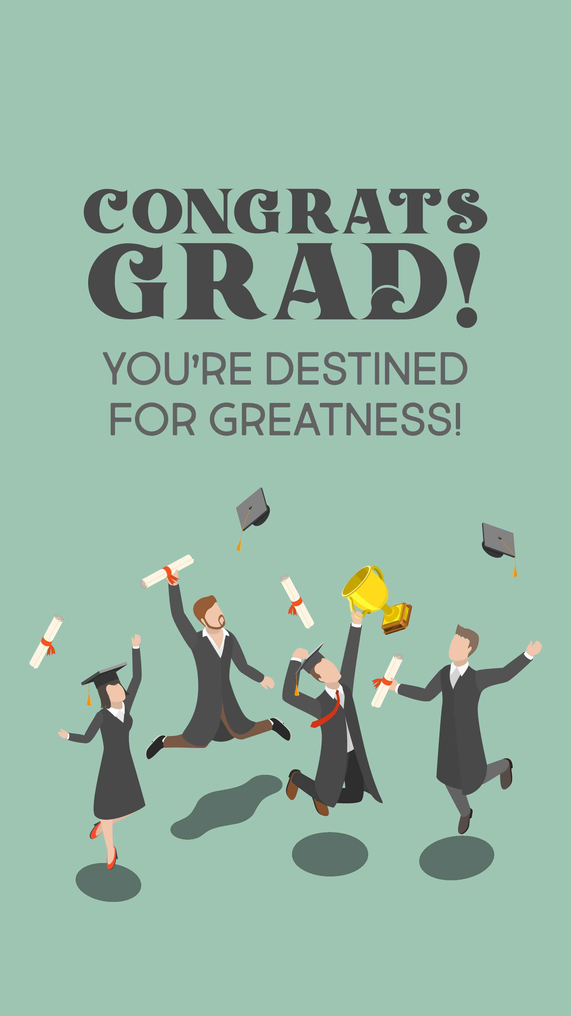 Congrats, Grad II