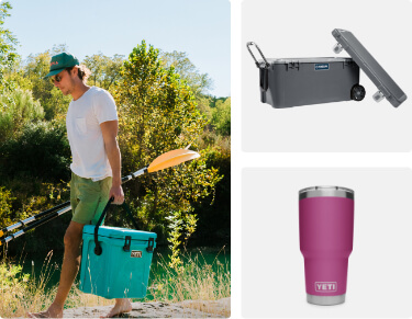 cooler and tumblers from the best brands