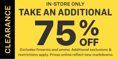 in store sale