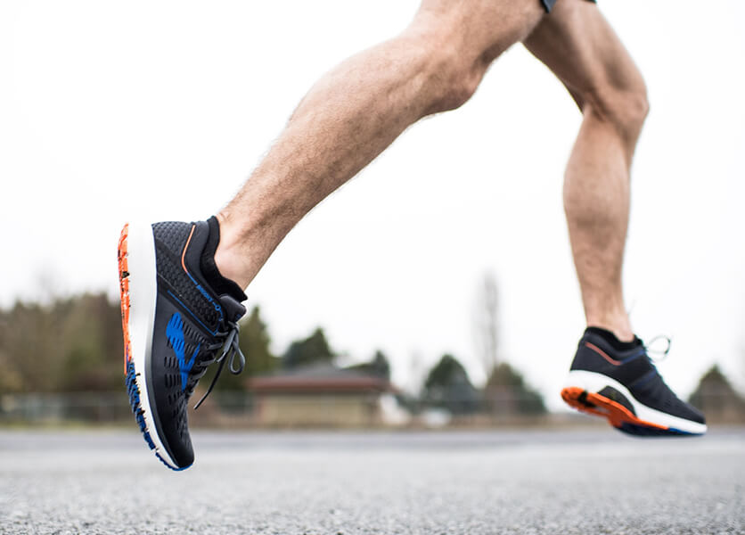 running and training shoes