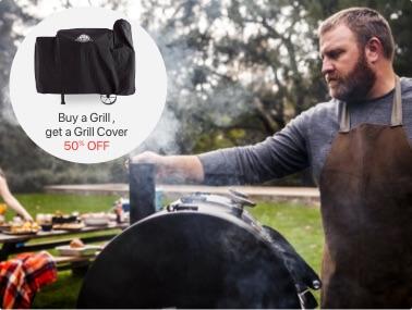 shop grills + smokers