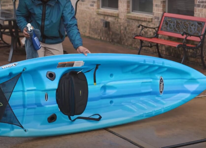 cleaning your kayak