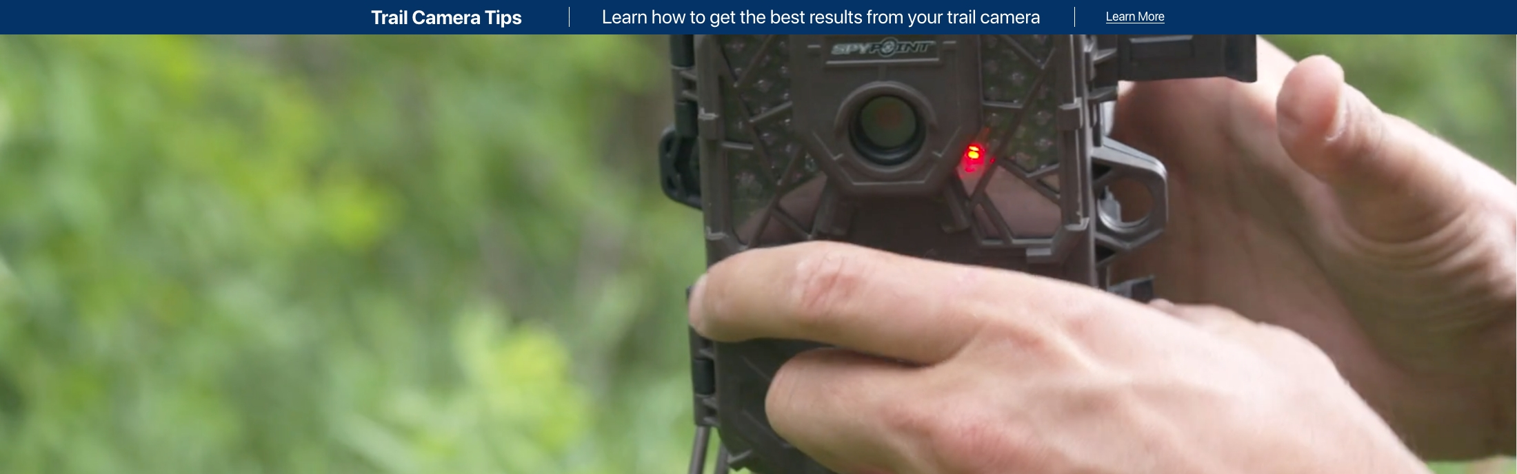 Trail Camera Tips