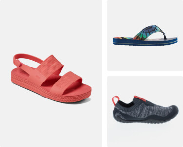 shop sandals and water shoes