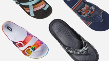 shop sandals and flip flops