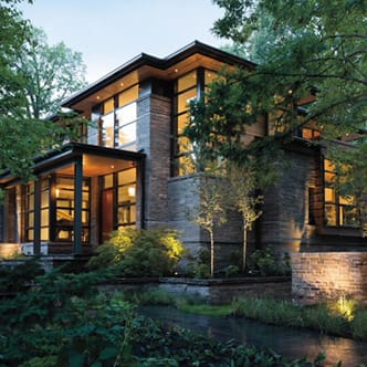 energy efficient architect series contemporary home exterior