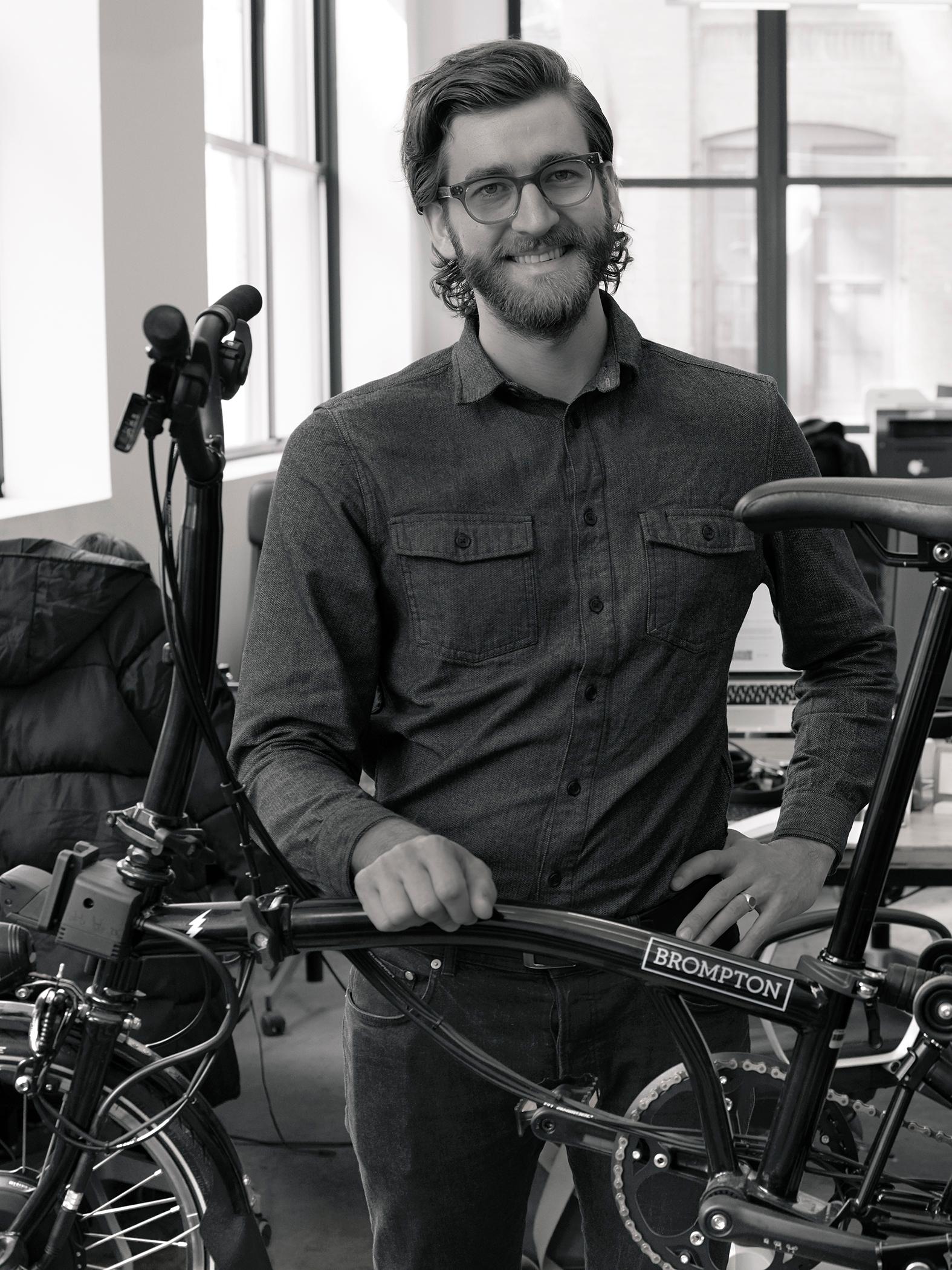 Peter Puskauskas of Brompton Bikes