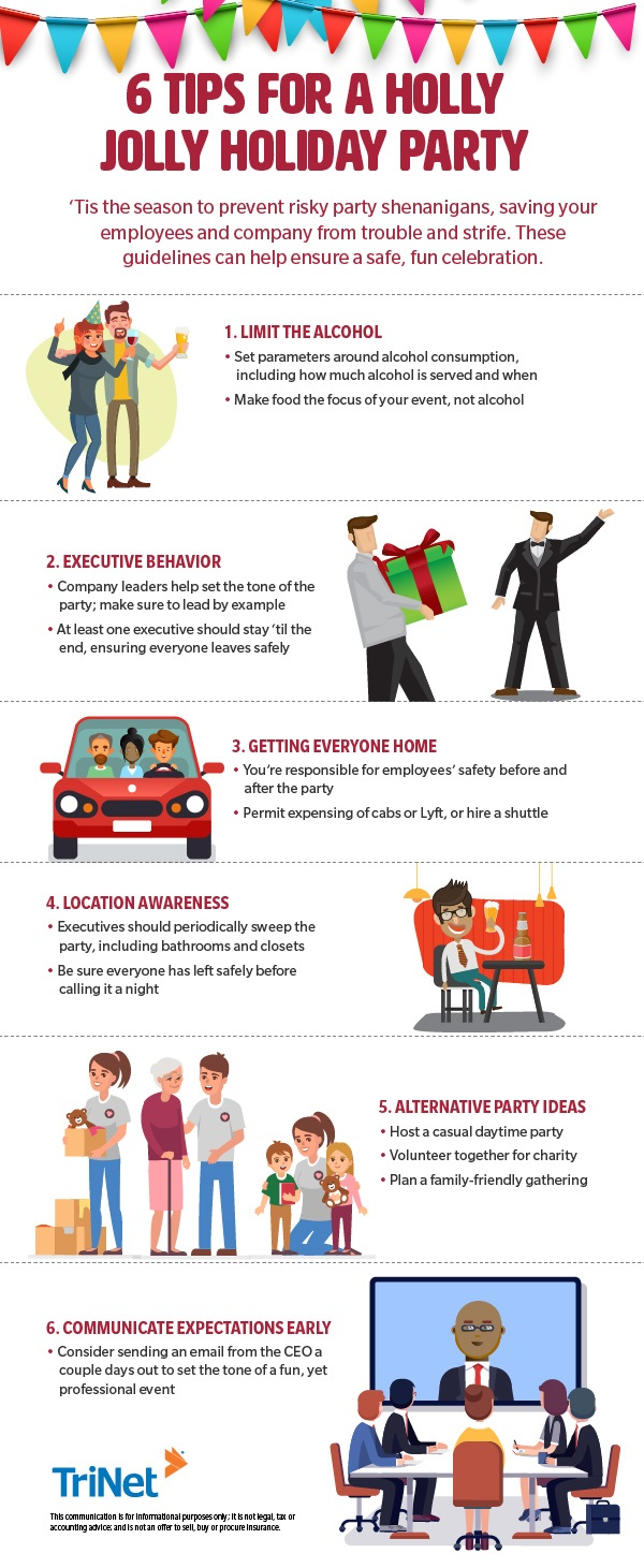 Holiday Party Safety Tips