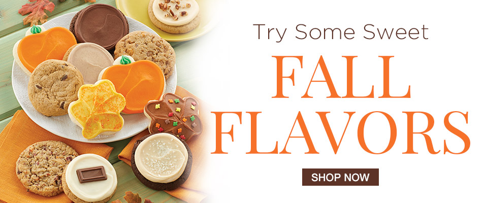 Try some sweet Fall Flavors